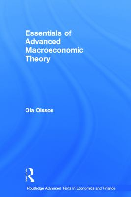 Essentials of Advanced Macroeconomic Theory 9780415685054