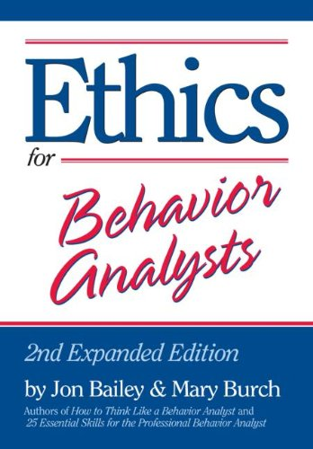 Ethics for Behavior Analysts 9780415880305
