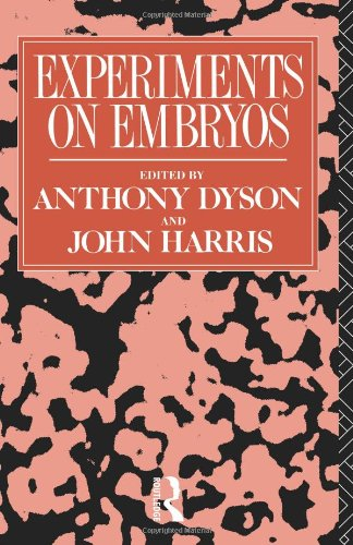 Experiments on Embryos 9780415007481
