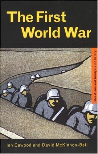 First World War 9780415222761