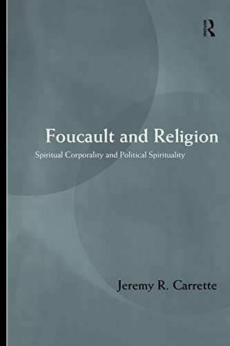 Foucault and Religion 9780415202602
