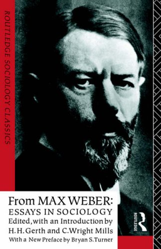 from max weber essays in sociology ebook Free reading from max weber: essays in sociology online an introduction to the work of the greatest german sociologist and a key figure in the development of p.