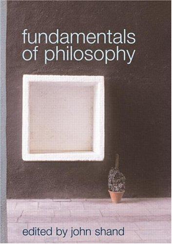Fundamentals of Philosophy 9780415227100