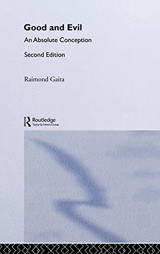 Good and Evil: An Absolute Conception 9780415332880