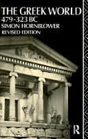 Greek World, 479-323 BC