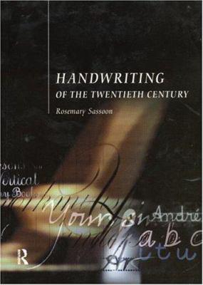 Handwriting of the Twentieth Century 9780415178822