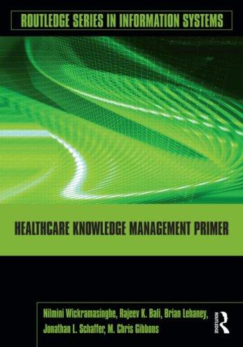 Healthcare Knowledge Management Primer 9780415994446
