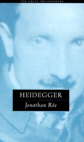 Heidegger: The Great Philosophers 9780415923965