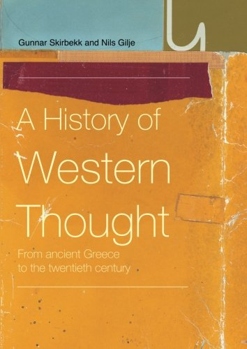A History of Western Thought: From Ancient Greece to the Twentieth Century 9780415220736