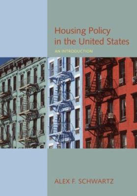 Housing Policy in the United States: An Introduction 9780415950312