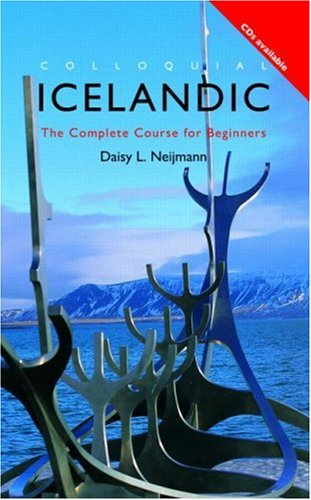 Icelandic: The Complete Course for Beginners 9780415207065