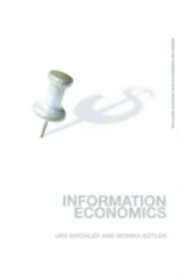 Information Economics 9780415373456
