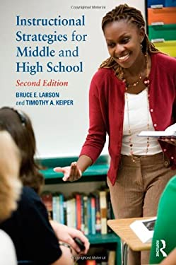 Instructional Strategies for Middle and High School 9780415898140