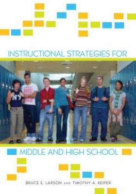 Instructional Strategies for Middle and High School 9780415953092