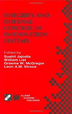 Integrity and Internal Control in Information Systems 9780412847707