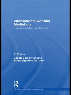 International Conflict Mediation 9780415576482