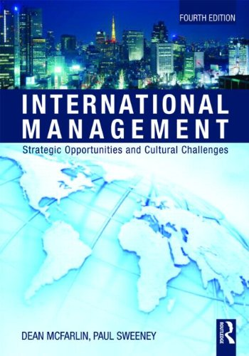 International Management: Strategic Opportunities and Cultural Challenges 9780415802994