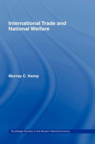 International Trade and National Welfare 9780415220767