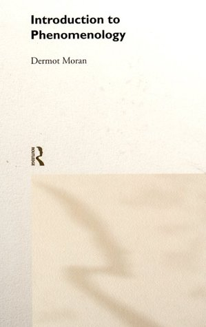 Introduction to Phenomenology 9780415183727