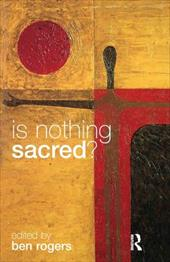 Is Nothing Sacred? 1316627