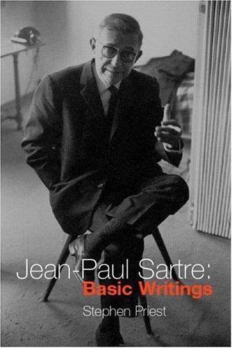 Jean-Paul Sartre: Basic Writings 9780415213684