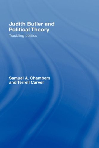 Judith Butler and Political Theory 9780415763820