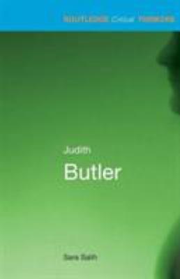 Judith Butler 9780415215190
