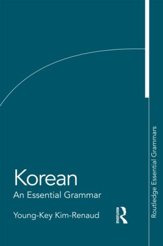 Korean: An Essential Grammar 9780415383882