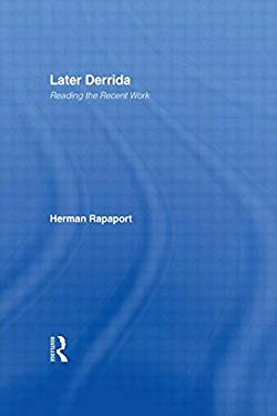 Later Derrida: Reading the Recent Work 9780415942690