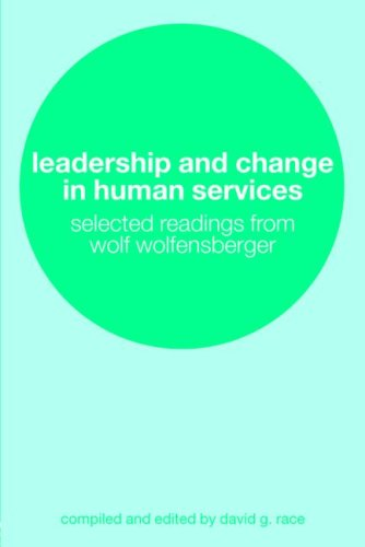 Leadership and Change in Human Services 9780415305631