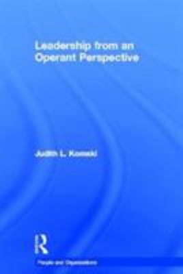 Leadership from an Operant Perspective 9780415098731
