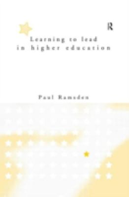 Learning to Lead in Higher Education 9780415151993