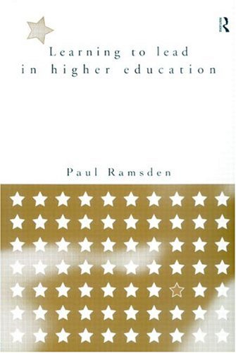 Learning to Lead in Higher Education 9780415152006