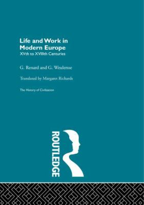 Life and Work in Modern Europe 9780415156080