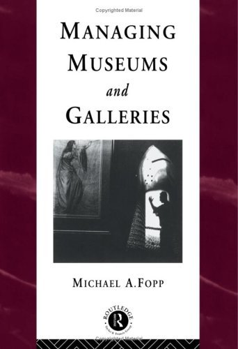 Managing Museums and Galleries 9780415094979