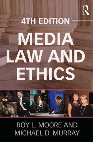 Media Law and Ethics 9780415894630