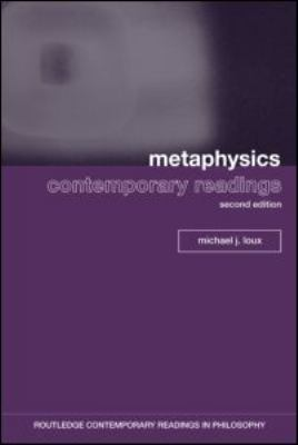 Metaphysics: Contemporary Readings 9780415962384