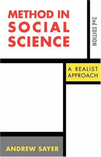 Method in Social Science: Revised 2nd Edition 9780415076074