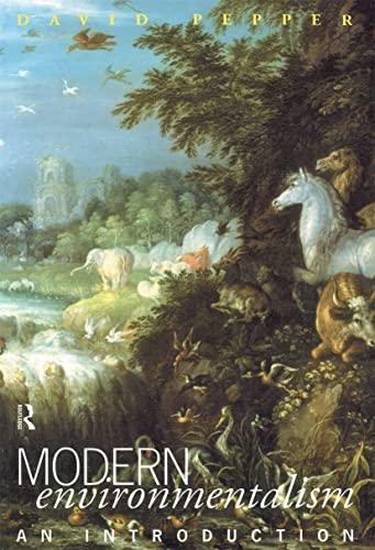 Modern Environmentalism 9780415057455