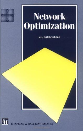 Network Optimization 9780412556708