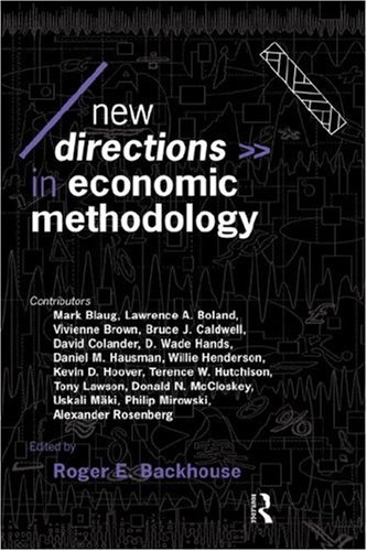 New Directions in Economic Methodology 9780415096379