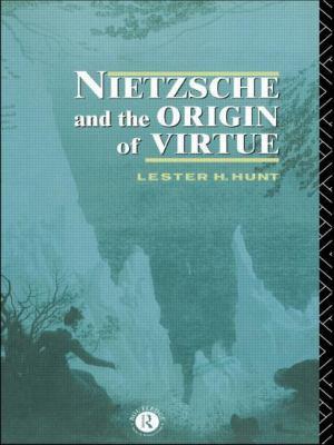 Nietzsche and the Origin of Virtue 9780415095808