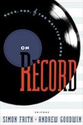 On Record: Rock, Pop and the Written Word 1296608