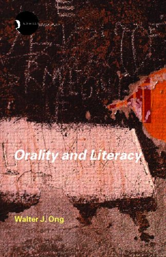 Orality and Literacy 9780415281294
