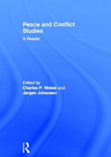 Peace and Conflict Studies: A Reader 9780415591287