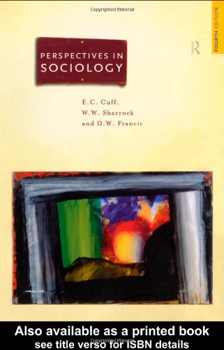Perspectives in Sociology 9780415159791