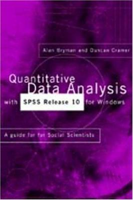 Quantitative Data Analysis with SPSS Release 10 for Windows 9780415244008