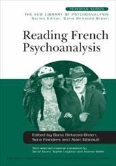 Reading French Psychoanalysis 1331533