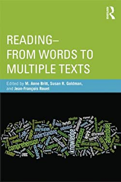 Reading - From Words to Multiple Texts 9780415501958