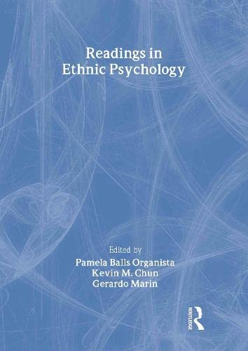 Readings in Ethnic Psychology 9780415919630